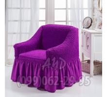 Чехол для кресел темно-фиолетовый