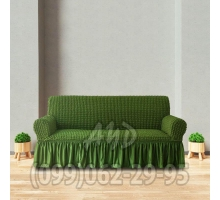 Чехол для дивана зеленый